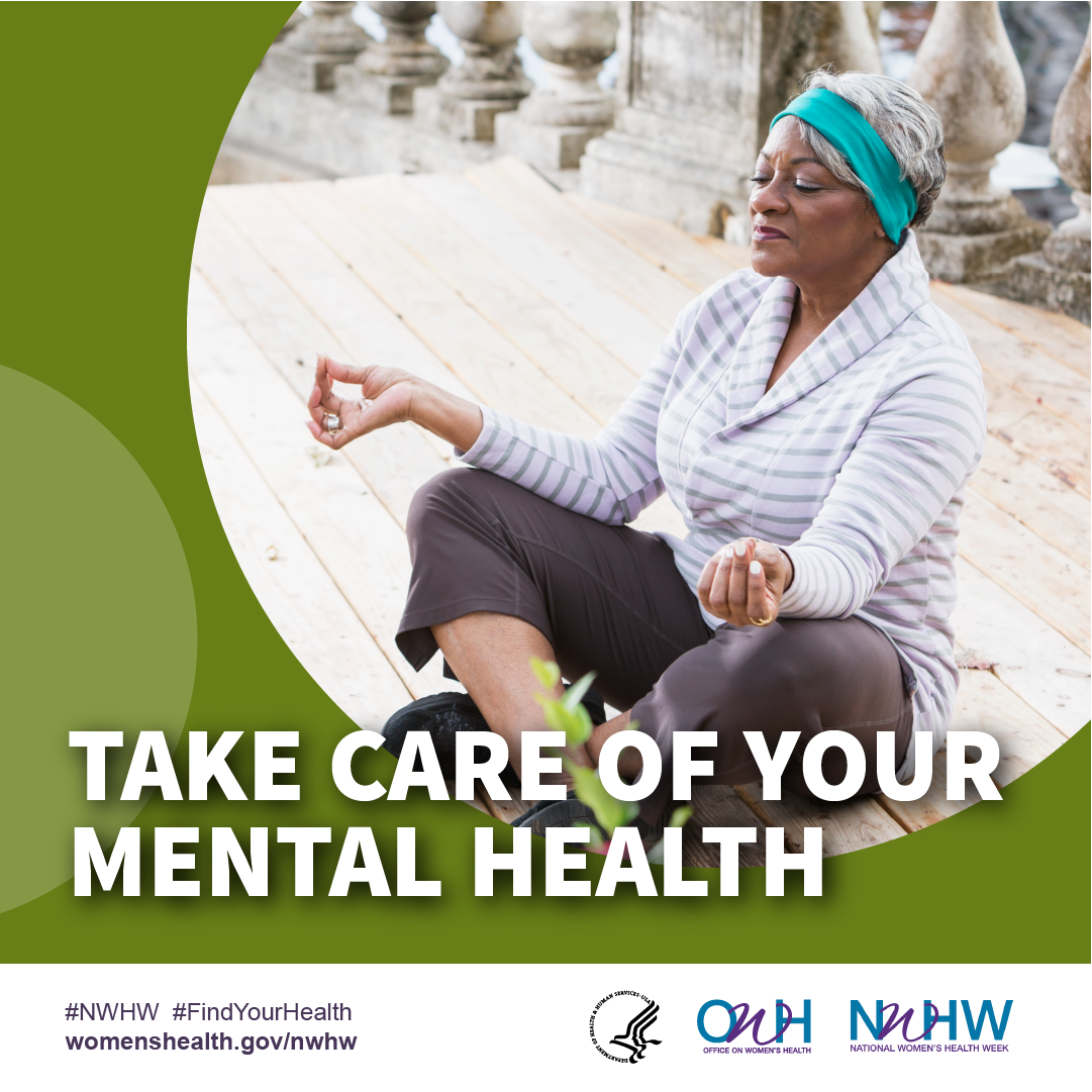 Self care square. #NWHW #FindYourHealth
